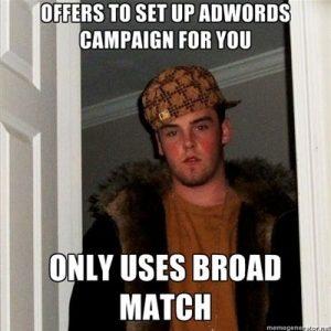 AdWords Funny Broadmatch